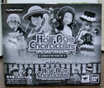 ONE PIECE HALF AGE CHARACTERS PROMISE OF STRAW HAT SEALED BOX OF 8 PACKS VER 4