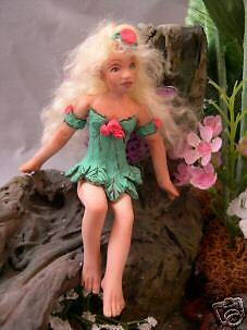 4.5 In. Fairy Sprite Doll Push Mold for Polymer Clay - Press Mold - OOAK Dolls