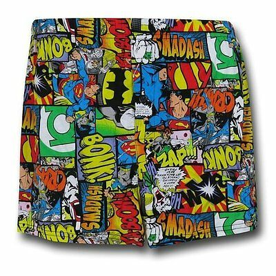 Justice League Boxers Superman Batman Green Lantern Joker DC  Underwear Brief XL