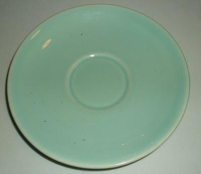 """VINTAGE LURAY PASTELS BABY LIGHT BLUE POTTERY SAUCER PLATE 1286 6 1/4"""" VGC"""