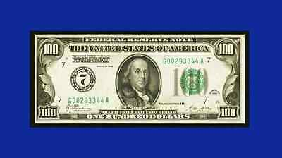 MAKE N OFFER *  EXCELLENT EYE APPEAL REDEEMABLE IN GOLD Fr. 2150-G $100 1928