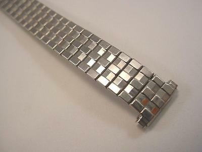 "Ladies Vintage Kreisler 13mm 1/2"" Straight Lug SS Expansion Watch Band New NOS"