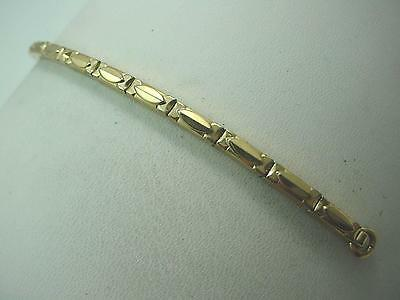 Gemex Ladies Vintage Watch Band Gold Filled 100% Expansion Hook End New Old Stk