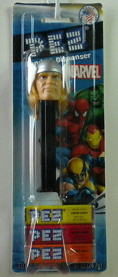 PEZ Thor Candy Dispenser New On Marvel Card