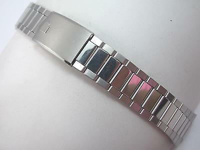 Stainless Deployment Pulsar Mens Vintage Watch Band Center Link Attachment 9.9mm