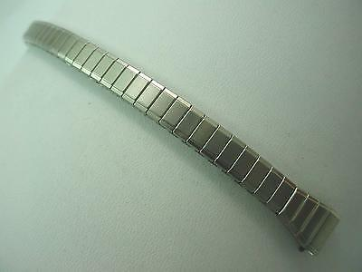 """Speidel Ladies Vintage Watch Band Straight Expansion 10mm 3/8"""" Stainless Steel"""