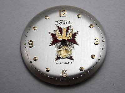 Knights of Columbus Automatic Ernest Borel Vintage Mens Watch Dial Pearl 28.32mm