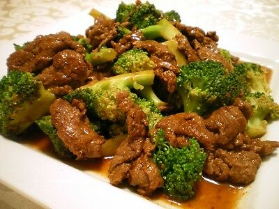 Pork with Broccoli in Oyster Sauce recipe Oriental food  cent  FREE SHIP