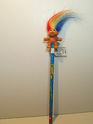 """2001 DAM 2"""" PENCIL TOP ON HIS GOOD LUCK PENCIL - New With Tag - LAST ONES"""