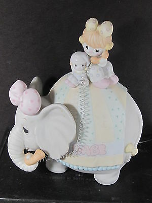 Precious Moments LET'S KEEP IN TOUCH Clown Telephone Elephant Musical Be A Clown