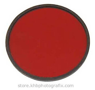 "New Premier 1A-type Light Red 5½"" diameter Filter for Kodak Safelights"