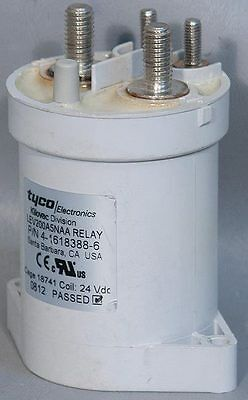Tyco/Kilovac LEV200A5NAA 24 VDC SPST 500 A Relay/Contactor PN: 4-1618388-6