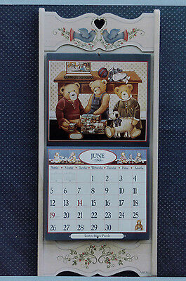 """""""On The Wing"""" Calendar Holder Pattern Packet by Kay Quist & Sandy James~~OOP"""