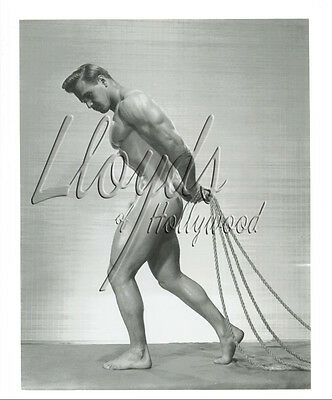 VIC SEIPKE  BEEFCAKE BODYBUILDER MALE NUDE PHOTOGRAPH  1954