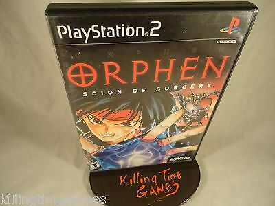 Orphen: Scion of Sorcery ! ( Sony Playstation 2 PS2 System ) COMPLETE, TESTED !