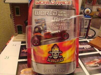HOT WHEELS HIGHWAY 35 WORLD RACE SCORCHERS #31 RED BARON
