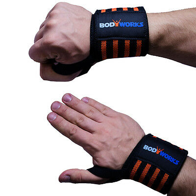 Bodyworks Handgelenkbandage Bodybuilding - Power Wrist Wraps