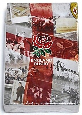 England Rugby Retro Licensed set of 52 playing cards (bb)