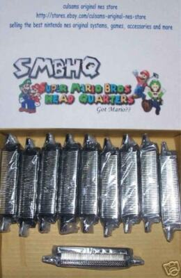 50 New Nintendo Nes 72 Pin Connector With 180 Day Guarantee And Instructions