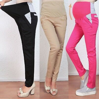 New Casual Sports Trousers Maternity Pants Care Of Pregnant Women Belly Pants