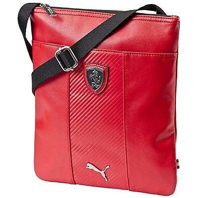 c3d8d4da0014 New Puma Scuderia Ferrari F1 Portable Side Shoulder Magazine Bag Red  07314802