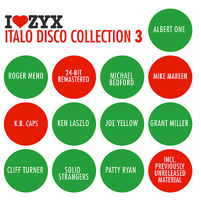 CD ZYX Italo Collection Vol.3 by Various Italo Artists 3CDs