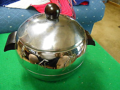 Great Vintage WEST BEND Ice Bucket or Hot or Cold Server