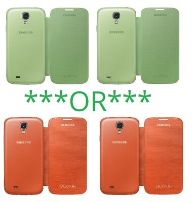 OEM Samsung Galaxy S3 S4 Note 2 3 Flip Cover S View Protective Cell phone Case