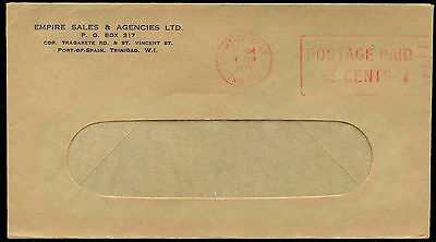 Trinidad & Tobago 1974 Port Of Spain Postage Paid 3c Cover #C17098