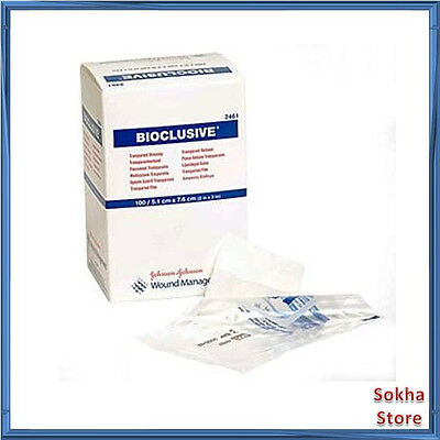 "BIOCLUSIVE Transparent Dressing Sterile 2 x 3"" (by the Each)"