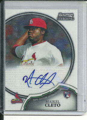 MAIKEL CLETO RC AUTO 2011 BOWMAN STERLING