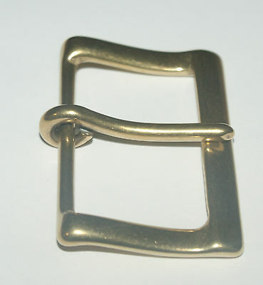 """SOLID BRASS LIGHTWEIGHT  BUXTON STYLE  BUCKLE  TO TAKE A  2/""""  STRAP"""