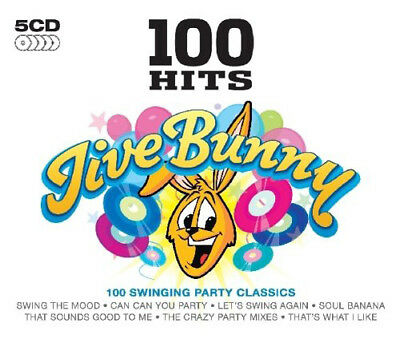 Various Artists : 100 Hits: Jive Bunny CD (2010) ***NEW***