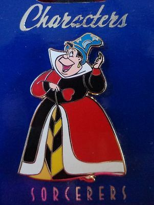 Disney Pin WDI Characters in Sorcerer Hats Queen of Heart Le250