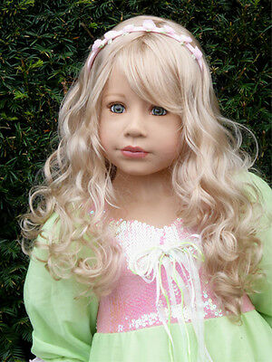 "Masterpiece * Blonde Wig Only ( No Doll ) For 48"" Sleeping Beauty Doll"