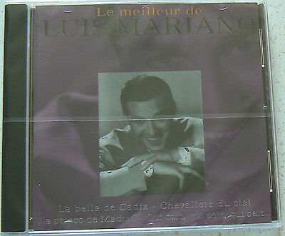 LE MEILLEUR DE LUIS MARIANO  best of - MARIANO LUIS (CD)  NEUF SCELLE