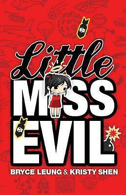 Little Miss Evil by Bryce Leung (English) Paperback Book Free Shipping!