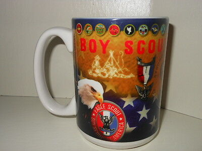 Boy Scouts Of America 100Th Anniversary Porcelain Coffee Mug New