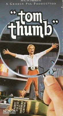 NEW VHS Tom Thumb:Peter Sellers Russ Tamblyn Terry-Thomas Dom DeLuise Alan Young
