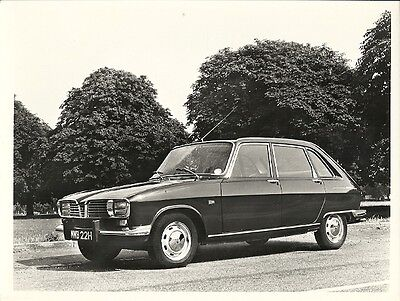 Renault 16Ts Period Press Photograph.