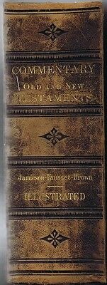 Commentary on the Old and New Testaments Critical,...Jamison et al, 1871, 1st Am