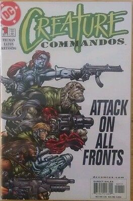 Complete Creature Commandos Limited Series 1 2 3 4 5 6 7 8 VF/NM 1st Prints DC