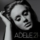 21 by Adele (CD, Feb-2011, Columbia USA) Incredible Voice, VG condition
