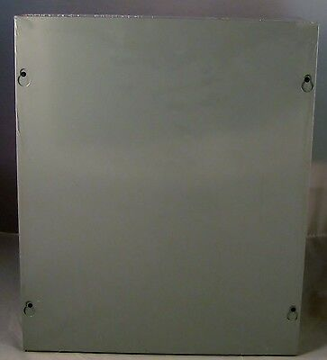 Sheet Metal Junction Box, Electrical Enclosure, 12x10x4 - NEW,  w/20-Knockouts