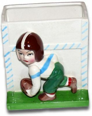 Vintage Napco 3-D Football Player Planter K4103