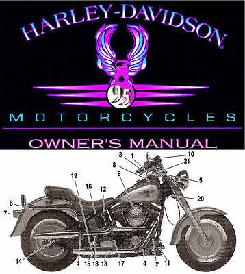 1995 HARLEY-DAVIDSON ALL MODELS OWNERS MANUAL -SPORTSTER-SOFTAIL-DYNA-TOURING