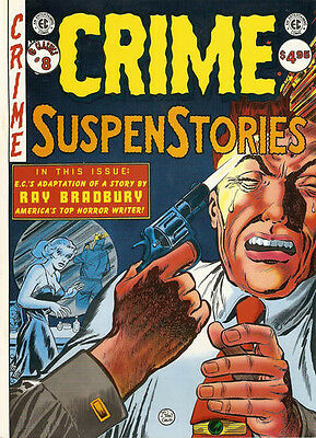 EC CLASSICS MAGAZINE #8 NM, CRIME SUSPENSTORIES, Russ Cochran 1986