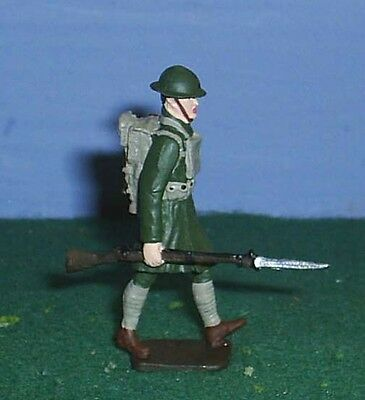 TOY SOLDIERS METAL AMERICAN WORLD WAR 1 WWI US MARCHING MARINE 54MM