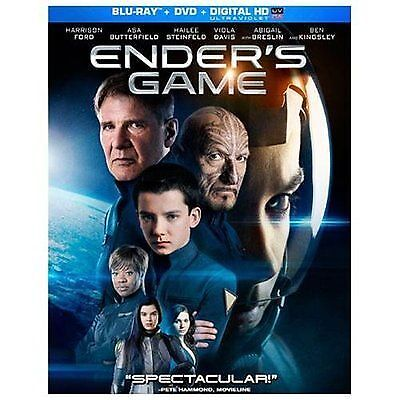 Ender's Game [Blu-ray] by Harrison Ford, Abigail Breslin