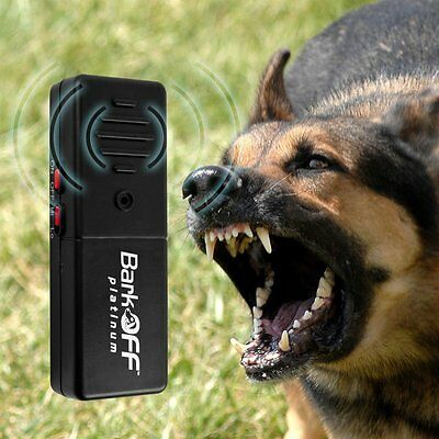 New Bark Off Ultrasonic Dog Train Aid Pet K9 As Seen On TV Portable Stop Barking